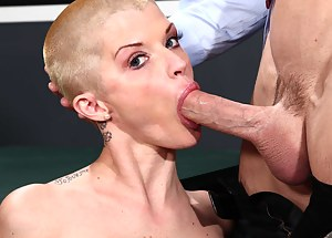 Free Bald MILF Porn Pictures